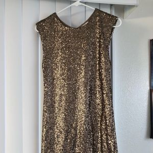 Guess Sequined Mini Dress Sheath Bodycon Size S